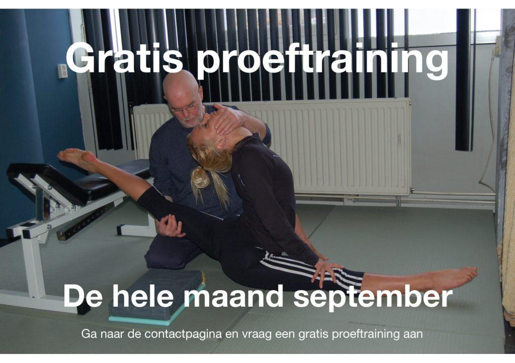 Gratis proeftraining bij Contortion Amsterdam